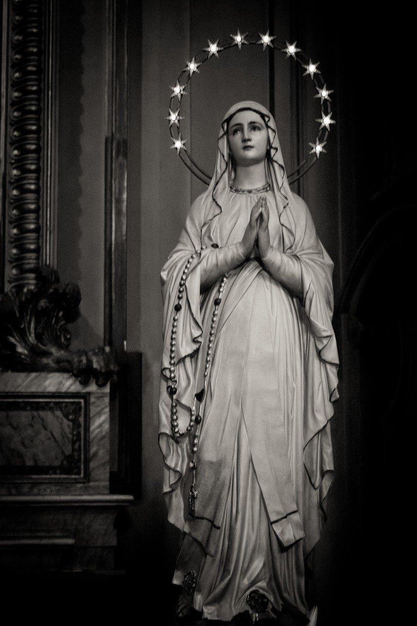 madonna, maria, church