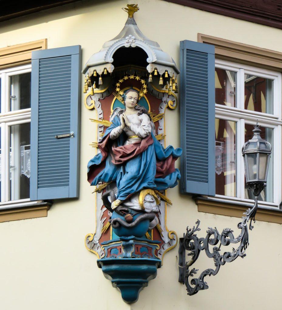religion, maria, statue