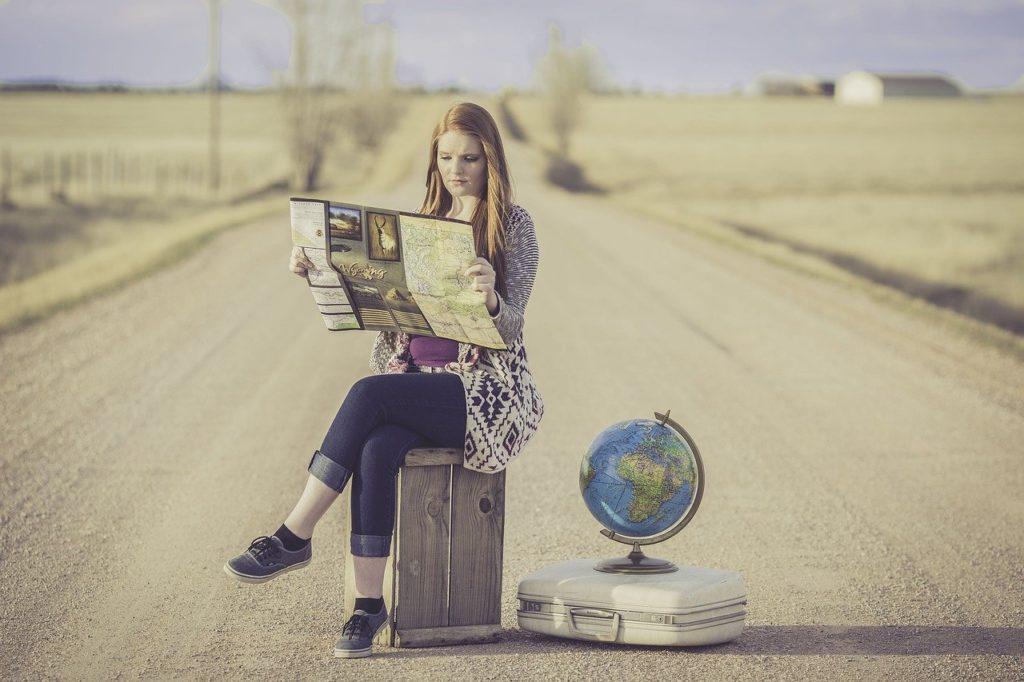 globe trotter, traveller, globe