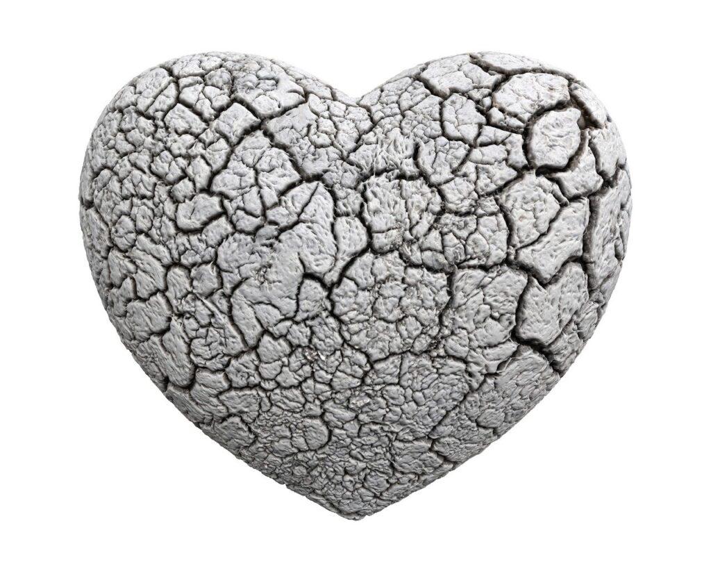 heart, 3d, stone