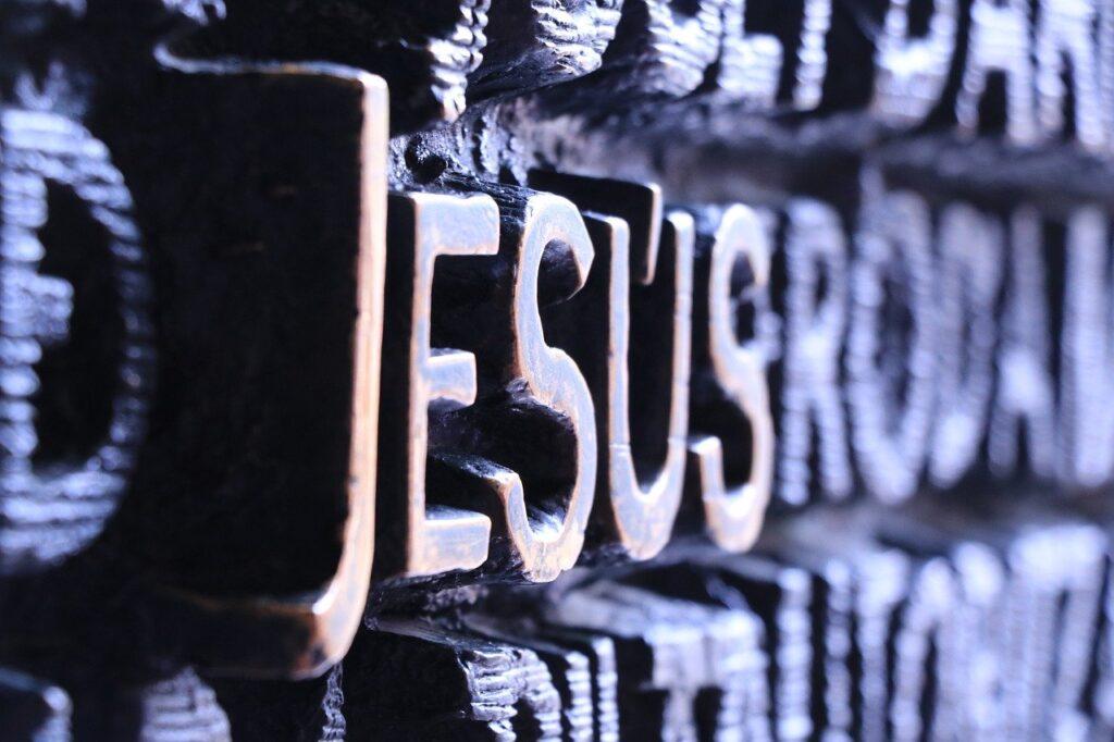 jesus, font, letters